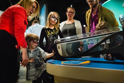 Imagine the toy of your dreams, then create it at the J. Armand Bombardier Museum of Ingenuity