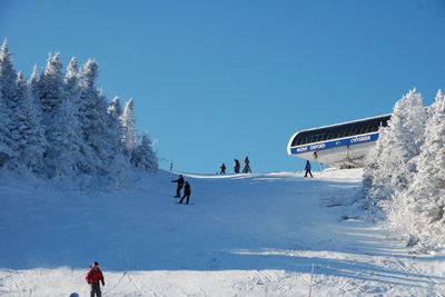 January Is Perfect for Skiing in the Eastern Townships