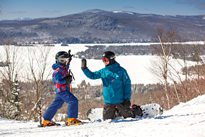 The Fun of Skiing in Quebec Is Contagious!