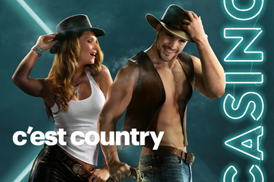 Quebec's Casinos are putting on a country show!