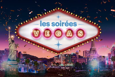 Get a real taste of Vegas at Quebec's Casinos