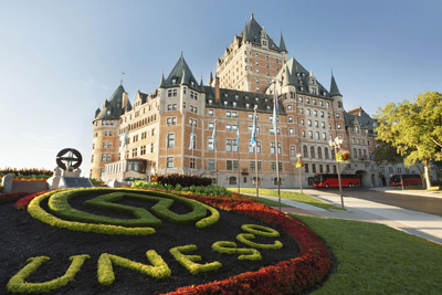 Enjoy a luxurious summer getaway thanks to the Fairmont Hotels in Quebec!