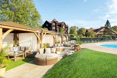 Choose a package and celebrate the reopening of Fairmont Le Château Montebello