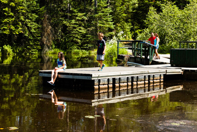 Head up to the Mauricie region for nature, camping and culture!