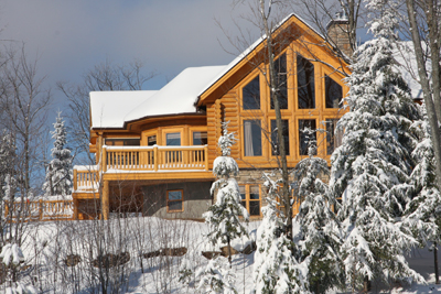 For Your Getaway to the Laurentians, How About a Chalet?
