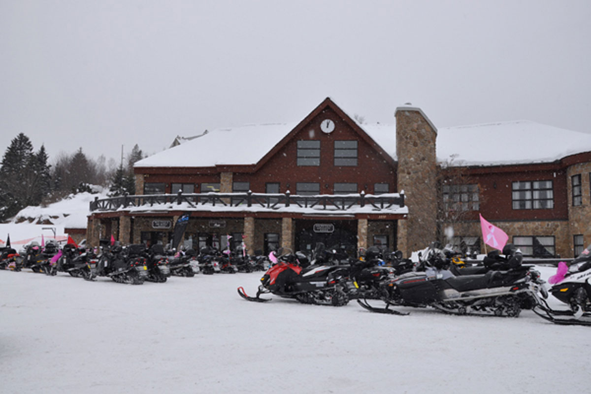 Combining outdoor thrills with comfort: hotels that cater to snowmobile riders