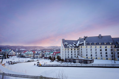 Head up to Montebello and Tremblant for an Unforgettable Getaway with the Fairmont Hotels