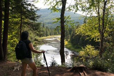 Answer Nature's Beckoning in the Laurentians
