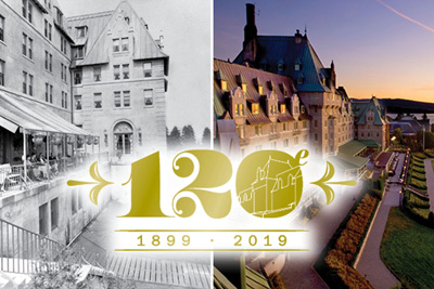 A spectacular 120th anniversary for Fairmont Le Manoir Richelieu!