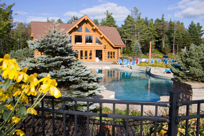 Step into a peaceful haven at the Fiddler Lake Resort