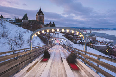 A fantastic winter at Fairmont Le Château Frontenac