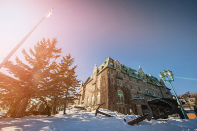 Fairmont Le Manoir Richelieu promises you a wonderful winter!