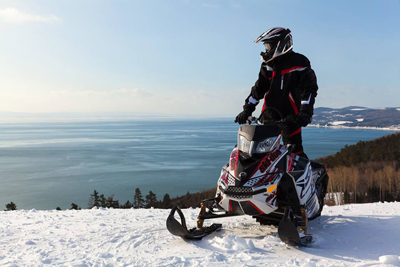 A Snowmobiling Paradise in Charlevoix