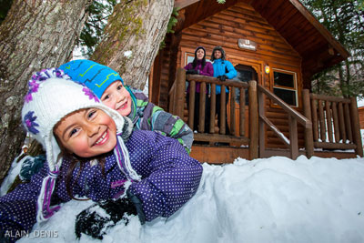 Have an Exciting Spring Break in the Laurentians