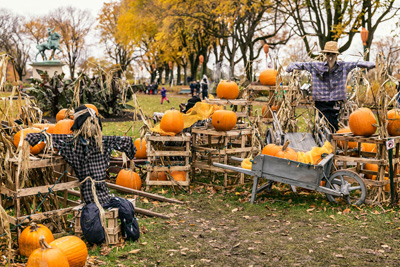 Get ready for fall and Halloween on the Plains of Abraham