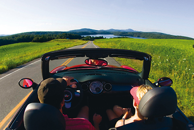 Hit the Road in the Eastern Townships this Summer