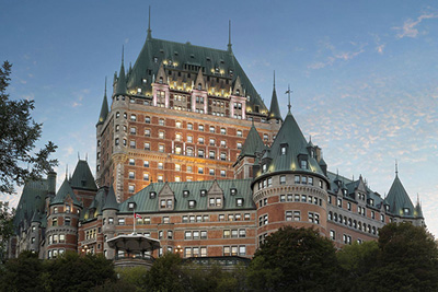 Enjoy an unforgettable stay at Fairmont Le Château Frontenac:  a legendary establishment in Québec City!