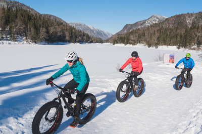 Your destination for outdoor fun this winter: the Jacques-Cartier region