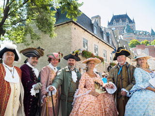 Travel back in time at the TD New France Festival