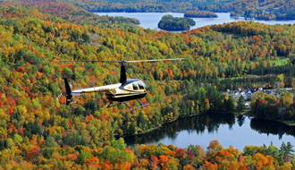 Soar above the Laurentians with Héli-Tremblant