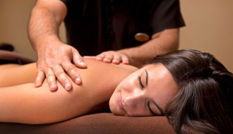 The team of massage therapists offers a variety of massages