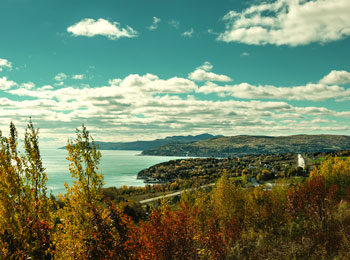 Searching for beauty and a change of scenery in the Charlevoix region