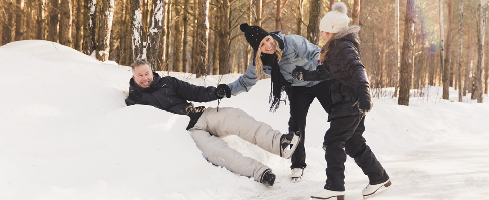 For a fantastic winter vacation, head up to the Mauricie region