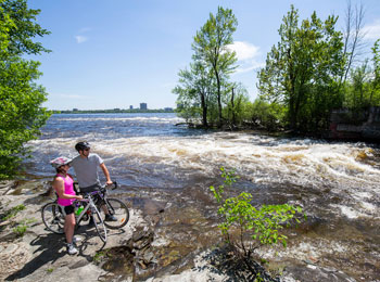 All bike paths lead to Gatineau!