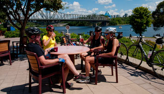 A well-deserved break, Tourisme Outaouais