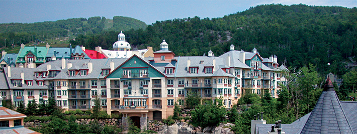 Mont-Tremblant Resort, Photo credit Michel Julien
