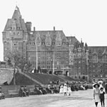 Discover the Château Frontenac through the ages
