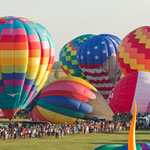 A Festive Get-together of Hot-air Balloons