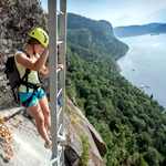 Via Ferrata at Parc national du Fjord-du-Saguenay