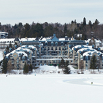 Winter at Hotel Le Chantecler