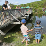 Sport and wonder at Parc Découverte Nature in Coaticook