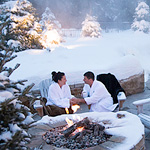 Experience the Magic of Winter at Hôtel Manoir Saint-Sauveur