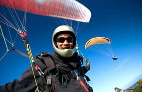 Hang-Gliding and Paragliding in Quebec