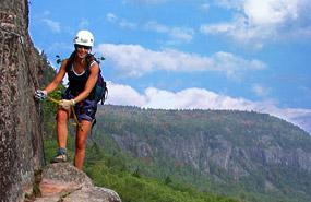 Klettersteig Quebec : Via ferrata in quebec